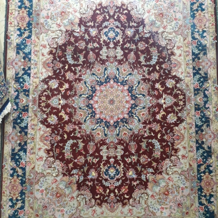 tabriz olya handmade rug