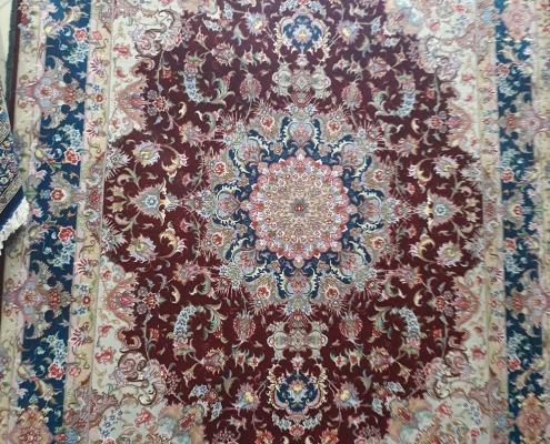 tabriz olya handmade carpet